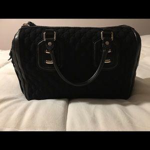 Black Gucci Micro Guccissima Boston Bag